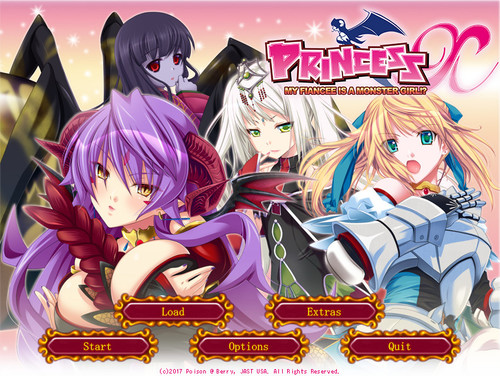 PRINCESS X: MY FIANCEE IS A MONSTER GIRL? (Poison@Berry, JAST USA)
