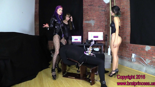 Brat Princess 2: Alexa Amadahy and Natalia – New Hire Trained to Tease for Pre Cum Extraction Only