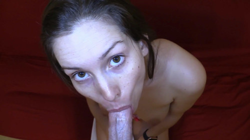 Lelulove: Cleaning Your Cock POV Blowjob Creampie November 7, 2017