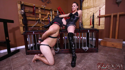 Clubdom: Pegging Slave 142's Ass (November 9th 2017)