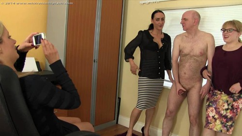 Mistress Whiplash – Nikki Whiplash, Chloe Lovette and Amy Hunter – Humiliated Office Boss