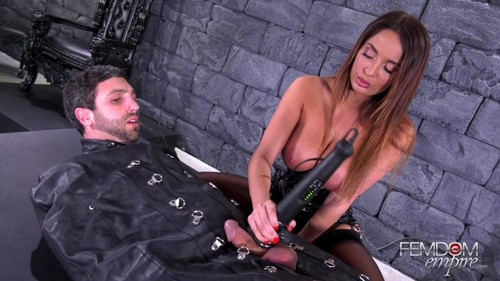 Femdom Empire – Anissa Kate – Vibrator Penis Milking