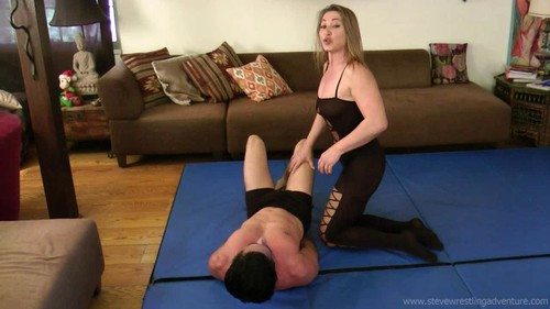 Steve Wrestling Adventures – Sophie – SWA 245 CAPTURED AND ABUSED BY SOPHIE