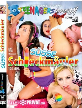 Teenagers Dream Spezial Suesse Schleckermaeuler Cover