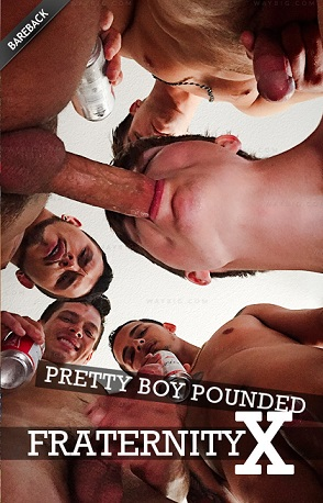FraternityX Pretty Boy Pounded 1080p Cover