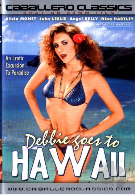 Debbie Goes To Hawaii 1988 Cover