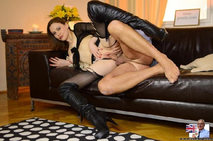 [LarasPlayGround / JimSlip] Tina Kay and Lara Latex – From Law To Whore! [720p/01.09.2014, Old-Young, Brunette, Natural Tits, Medi…