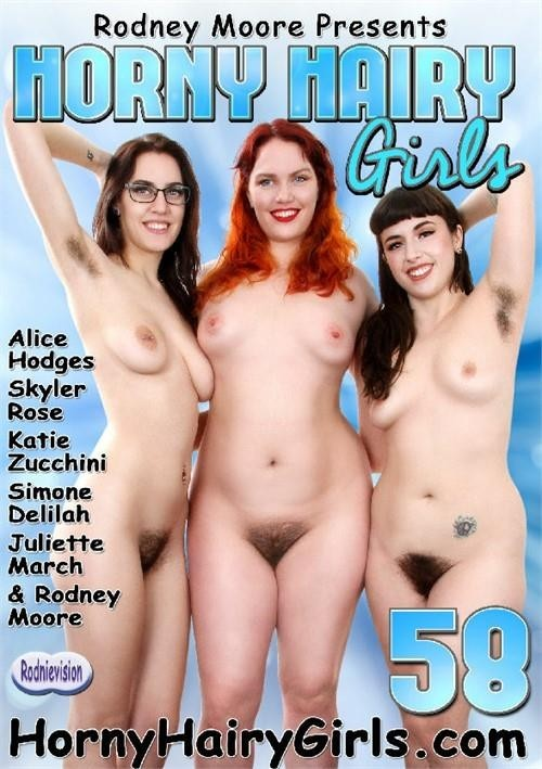 Horny Hairy Girls 58 (Rodney Moore, Rodnievision) [2017, Amateur, Hairy, Fetish, DVDRip]
