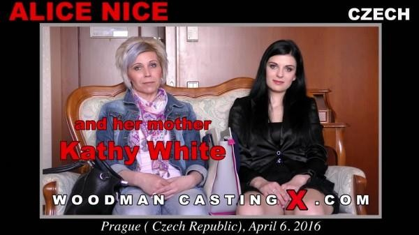 [WoodmanCastingX] Alice Nice (Casting X 160 * Updated * / 28.10.2017) [DAP, DP, Anal, Foursome, MMMF, Swallow, Ass Licking, Castin…
