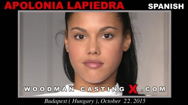 [WoodmanCastingX] Apolonia Lapiedra (Casting X 171 / 25.12.2016) [DP, Anal, Threesome, MMF, Deep Throat, Swallow, Casting, All Sex…