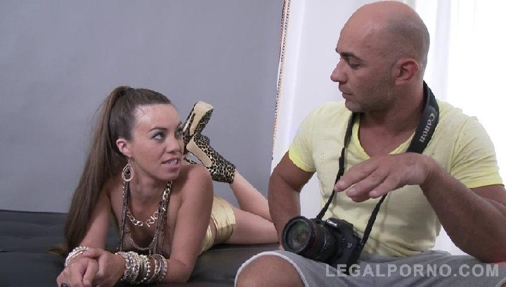 [LegalPorno] Tiffany Doll assfucked by four guys & double penetration SZ1418 / 25.10.2017 [Gangbang, A2M, DP, Anal, Gape, 480p]