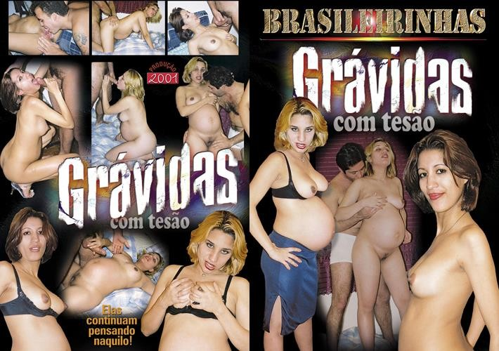 [Brazil] Gravidas Com Tesao / Gravidas Com Tesao (Brasileirinhas) [2001, Latin, Pregnant, DVDRip]