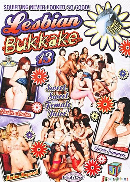 Lesbian Bukkake #13 (JM Productions) [2008, Lesbian, Bukkake, DVDRip]
