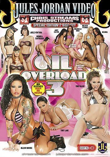 Oil Overload 3 (Chris Streams, Jules Jordan Video) [2009, Anal, DP, Group, Big Boobs, Creampie, VOD] [Split Scenes]