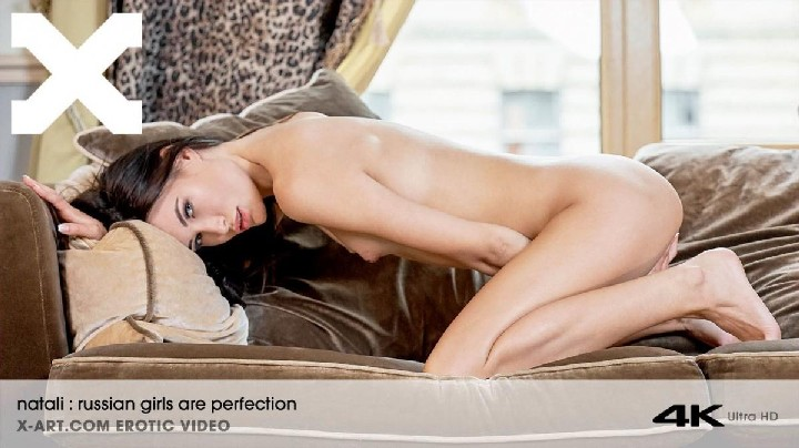 [X-Art] Natali (Russian Girls Are Perfection / 04.11.2017) [Amateur, Brunette, Solo, Posing, Mastrubation, Teen, Shaved, 1080p, HD…