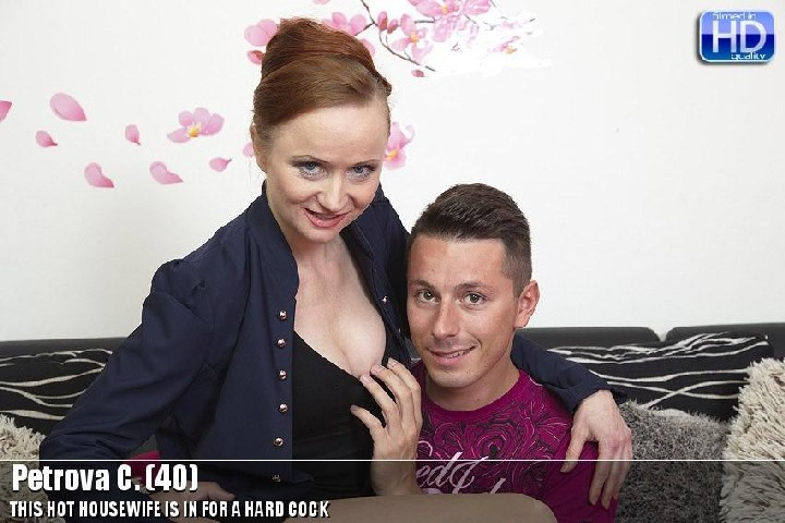 [Mature] Petrova C. (40) (mat-bustyhard109) [540p/05.06.2015, MILF, Ginger Hair, Natural Tits, Medium Tits, Shaved Pussy, Hardcore…