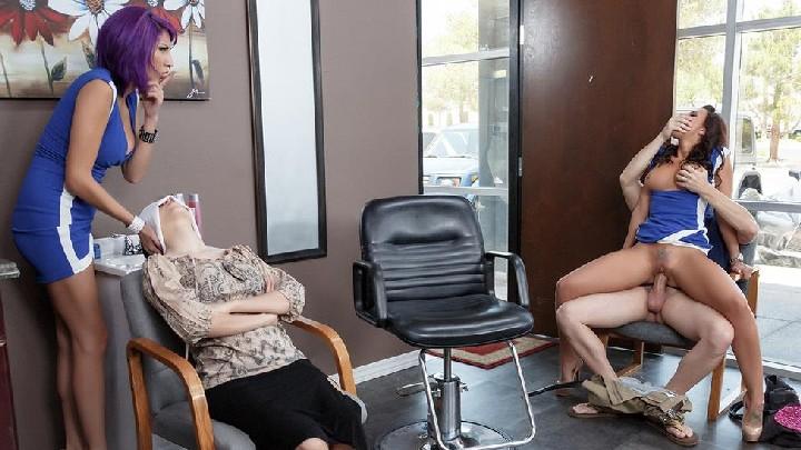 [PornStarsLikeItBig] Rachel Starr (Rachel Lets Her Hair Down / 06.10.15) [Work Fantasies, Uniform, Bubble Butt, Brunette, Couples …