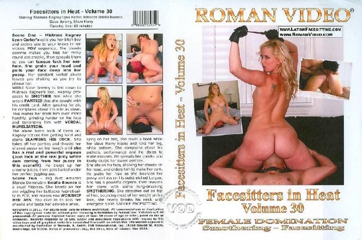 Facesitters In Heat 30 (Roman Video) (Kagney Lynn Karter, Briella Bounce) [2011, Facesitting, Femdom, Kunilingus, Anilingus]