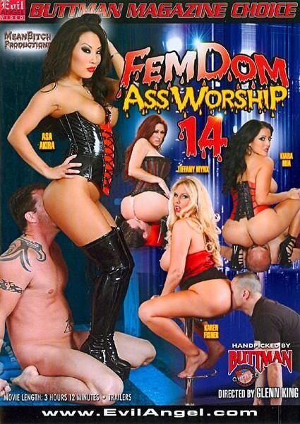 FemDom Ass Worship #14 (Glenn King, Evil Angel) (Asa Akira, Tiffany Mynx, Karen Fisher, Kiara Mia) [Gonzo, Fetish, FemDom]