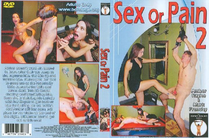Sex Or Pain 2 (Amber Rayne) (Bon Vue Enterprises) [2011, Femdom, All Sex, Kunilingus, FaceSitting, Foot Fetish, Ball Stretching]