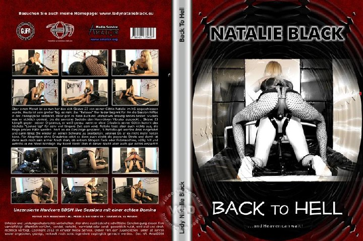 Natalie Black – Back To Hell / – (Amator) [FemDom, FaceSitting, Strapon, Fisting, Fuck Machine, CBT, BDSM, Bondage, Smoking]