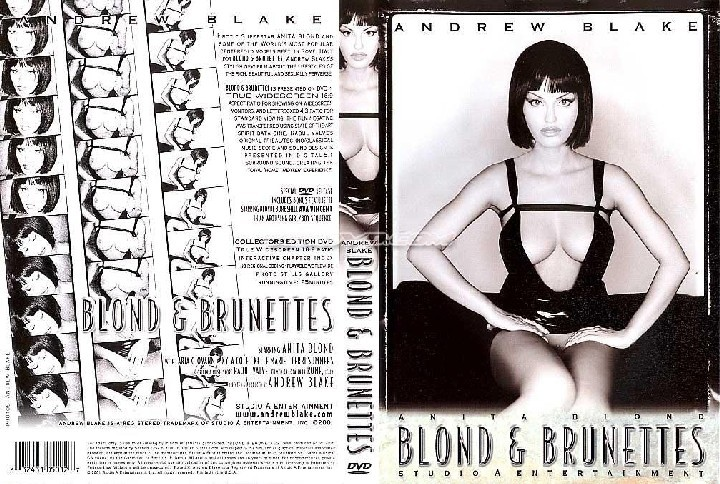 Blond and brunettes (Andrew Blake / Studio A Entertainment) Anita Blond, Aria Giovanni, Ava Vincent, John Decker