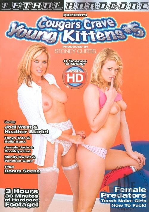 Cougars Crave Young Kittens 5 (Chucky Sleaze / Lethal Hardcore) [All Girl / Lesbian, Cougars, Gonzo, Mature, Old & Young Femal