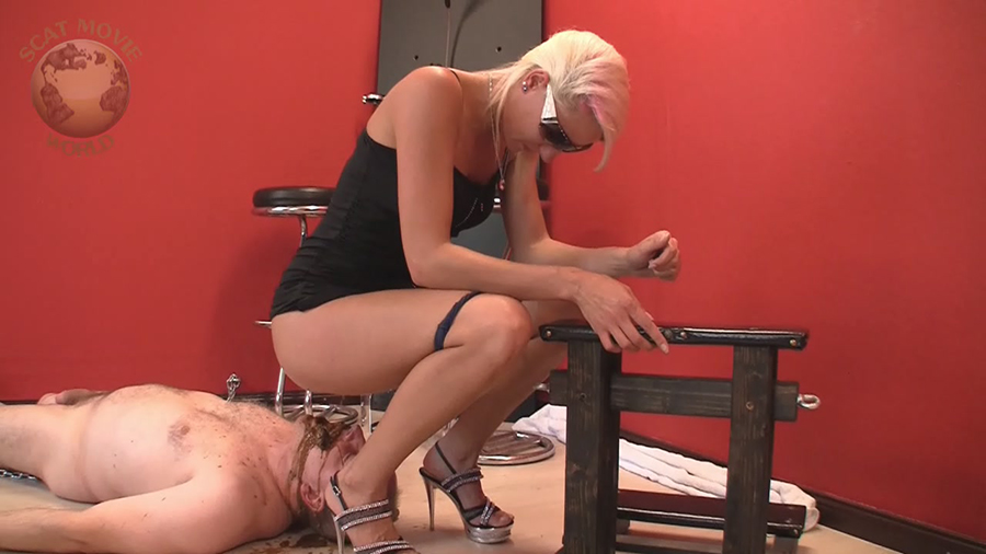 Lady Chantal, Miss Cherie - Very dirty scat session [Scat-Movie-World / 299,28 Mb] HD 720p (Scat, Pissing, Femdom, Humiliation)