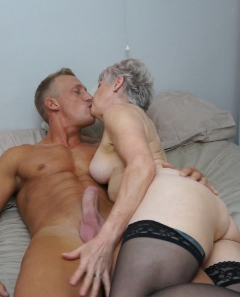 Lady Sextasy (64) in British mature Lady Sextasy doing her toyboy