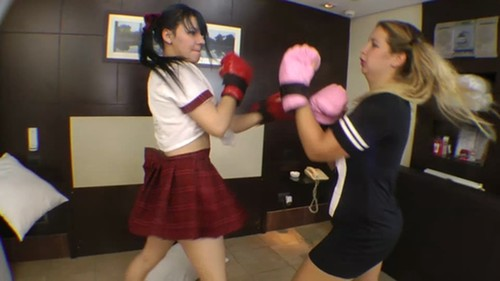 Mfvideobrazil: Real Fight Boxing Marathon By Meg And Paulinha Part 2