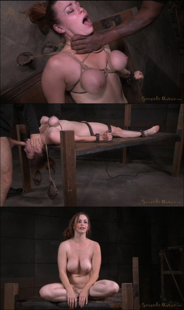 Big Boobed Bella Rossi Roughly Fucked In Inescapable Bondage Bbc