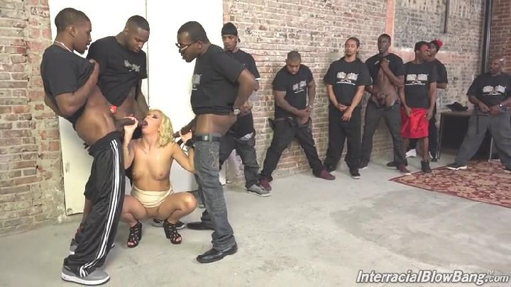 [InterracialBlowbang / DogFartNetwork] Cindy Lou (23-04-2015) [Bukakke, BlowBang, Facial, Blonde, Piercing, Natural Tits, Tatoo, I…