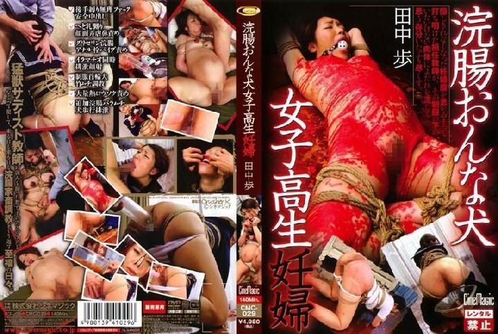 Tanaka Pregnant Woman Walking Dog School Girls Enema (Crusher K, Cine Magic) [CMC-029] [cen]