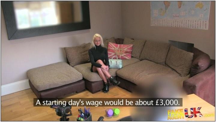[FakeAgentUK] Cindy Sun ( Smoking hot blonde gives ass for cash / 1166) [All Sex, anal]