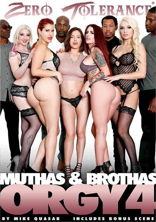 [BDWC] Muthas & Brothas Orgy 4 (Mike Quasar, Zero Tolerance Ent.) [2017, All Sex, Big Cocks, Interracial, Mature, MILF, Orgy, DVDR