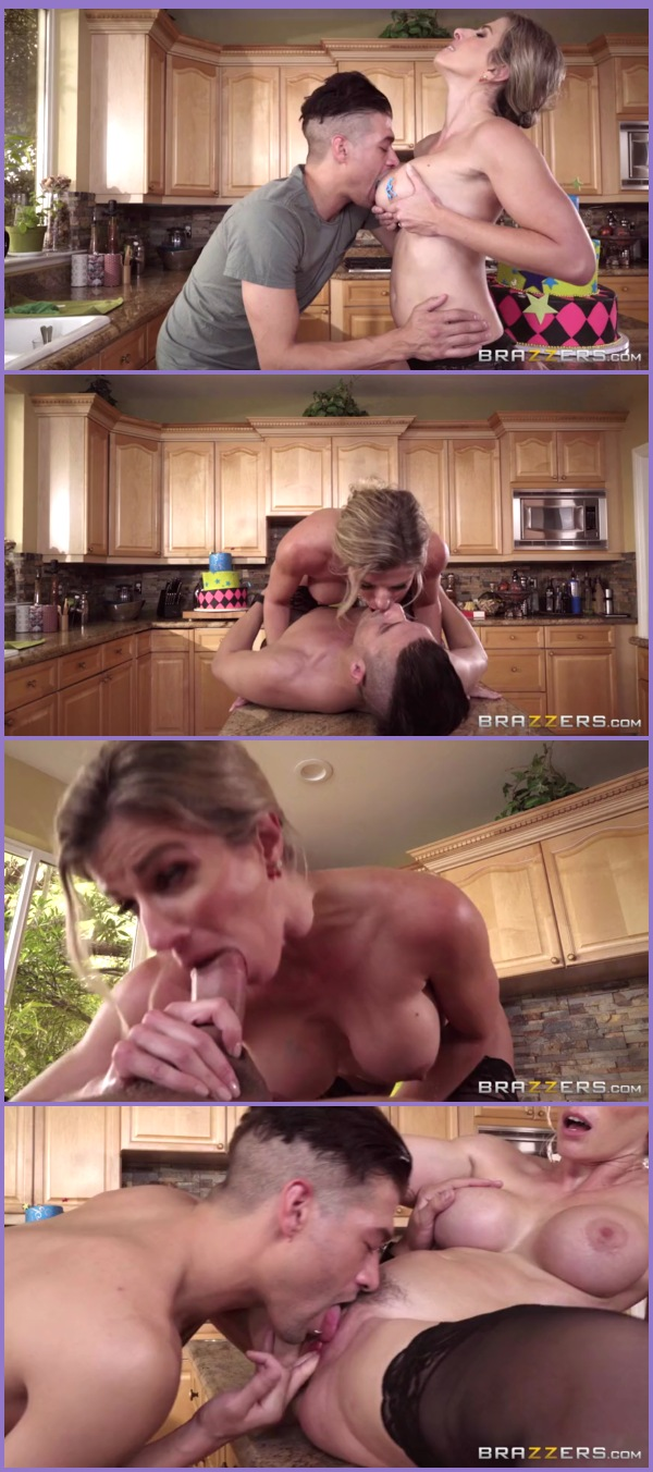 Step-mom cory chase dykes her innocent daughter